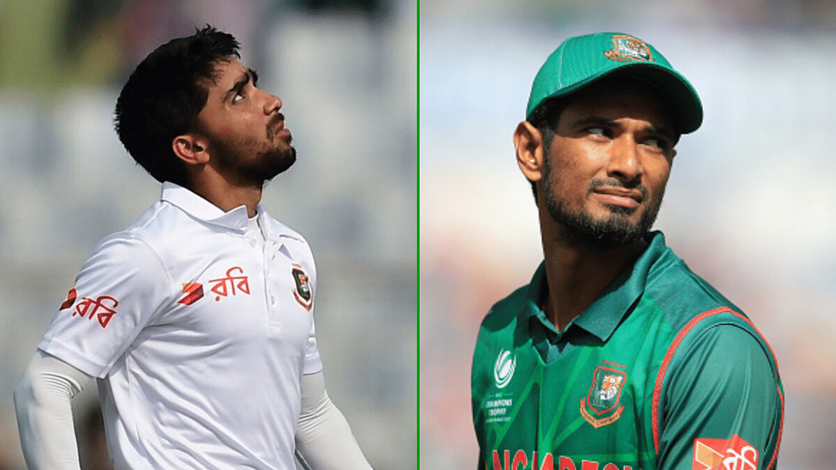 Mahmdullah (right) and Mominul have been named captains after the announcement of Shakib Al Hasan's 2 year suspension by the ICC.