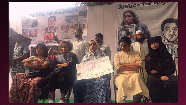 'Where's My Country Going?': Najeeb's Mother at Delhi Protest