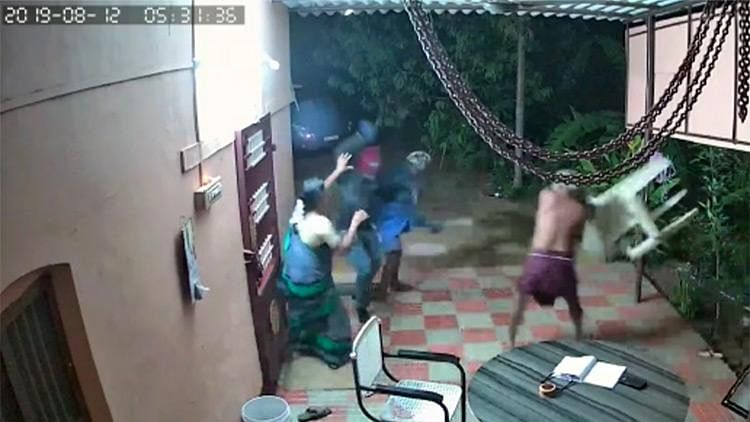 Almost two months after attacking and robbing an old couple in Tirunelveli district, the men who were behind the crime have been arrested.
