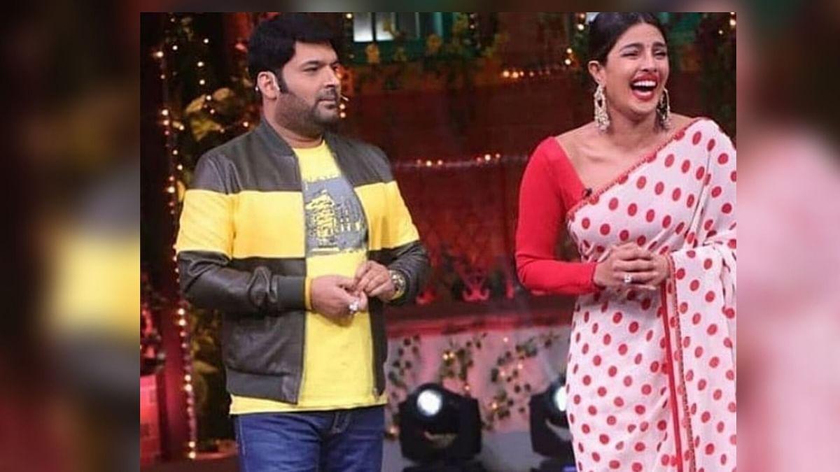 Kapil Sharma and Priyanka Chopra.
