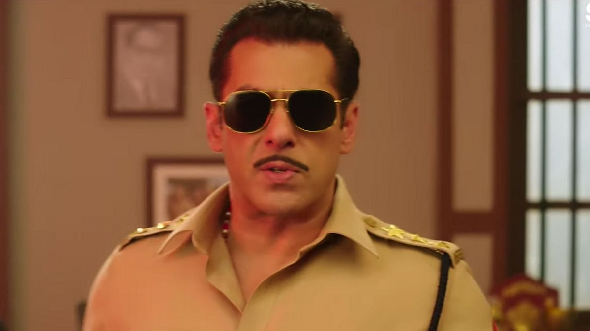 Salman Khan as Chulbul Pandey in <i>Dabangg 3</i>.