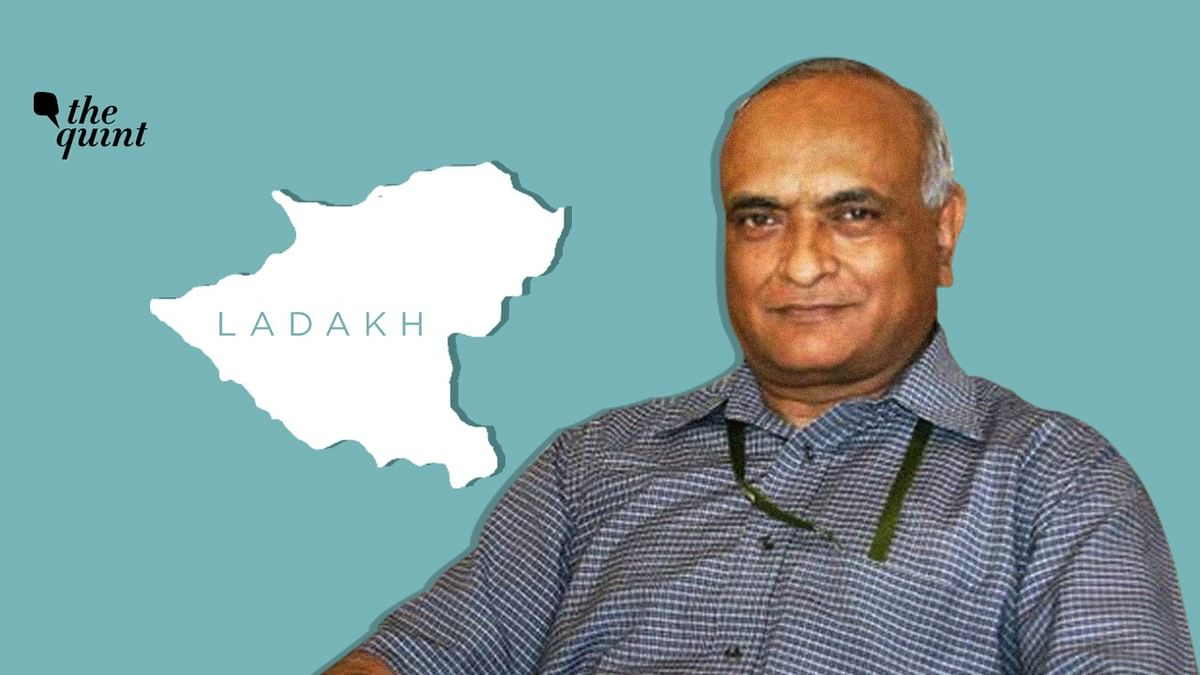 Former Defence Secy RK Mathur Takes Oath as First L-G of Ladakh