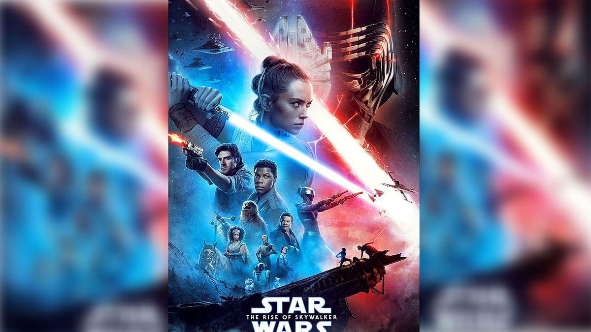 A poster for <i>Star Wars.</i>