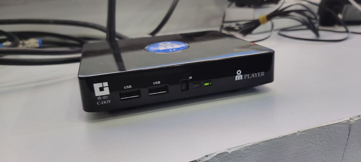 Hybrid DTH set top box for the future.