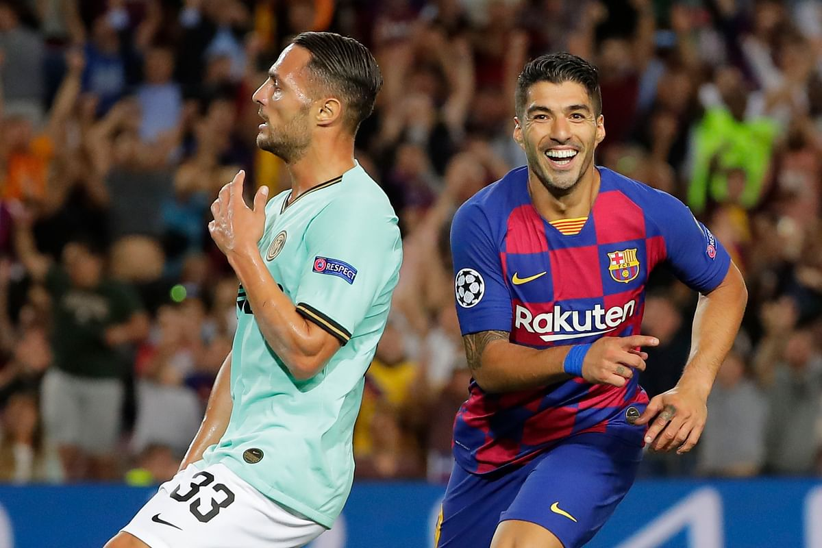 Suarez revived Barcelona with his equaliser.