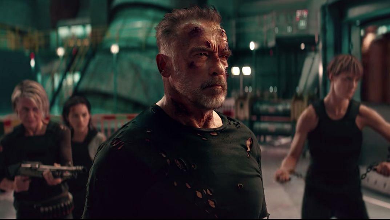 Arnold Schwarzenegger as Carl in <i>Terminator: Dark Fate.</i>