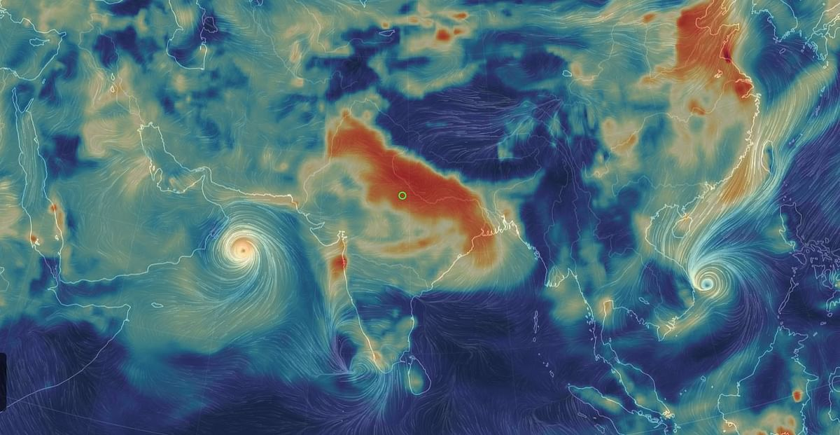 New Global Weather Images Show Dangerous Pollution Levels in India