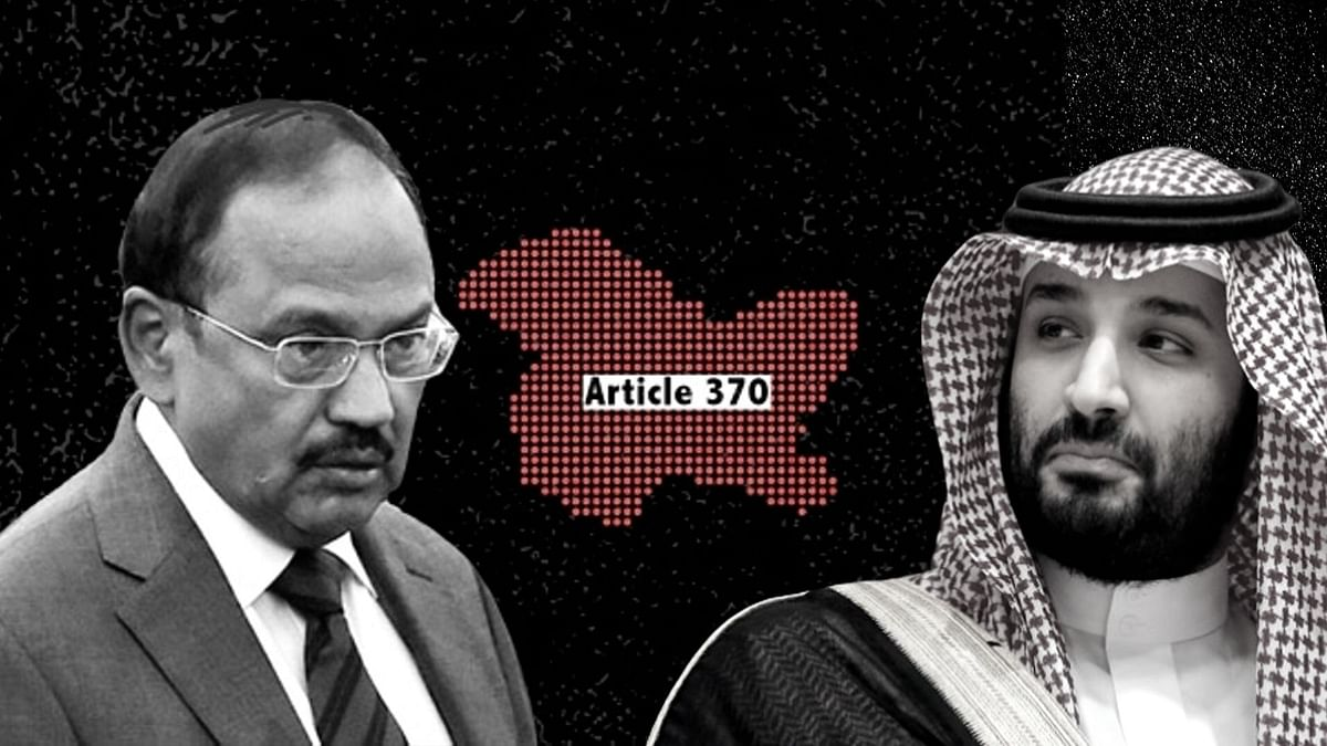 NSA Doval Visits Saudi, Apprises Crown Prince of Kashmir Situation