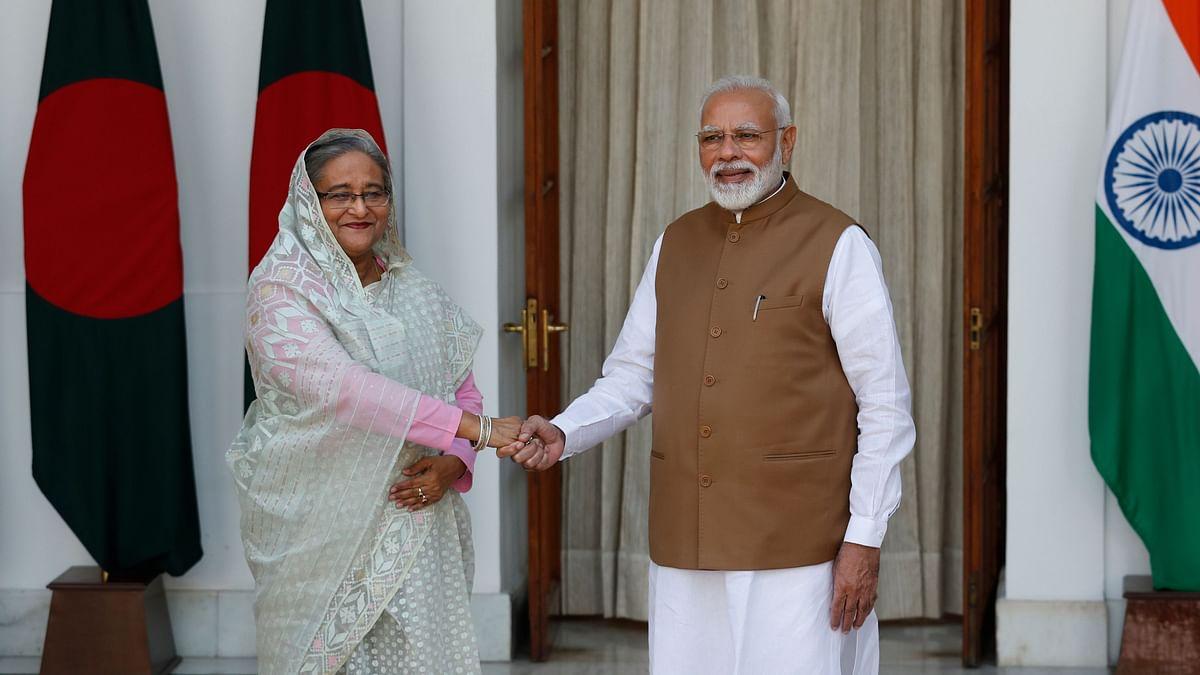 PM Modi, B'desh PM Hasina Ink 7 Pacts, Launch 3 Bilateral Projects