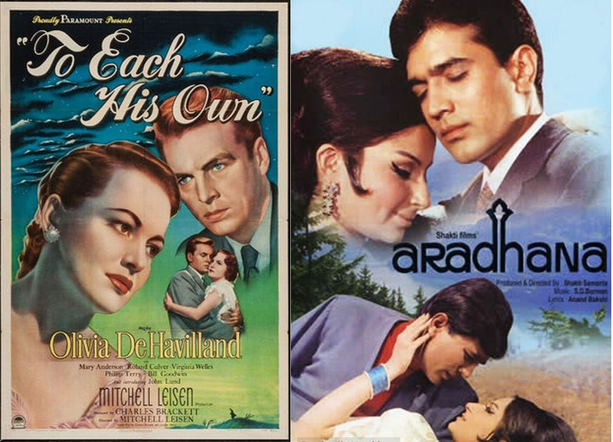 <i>Aradhana</i> was inspired by the Hollywood film <i>To Each His Own.</i>