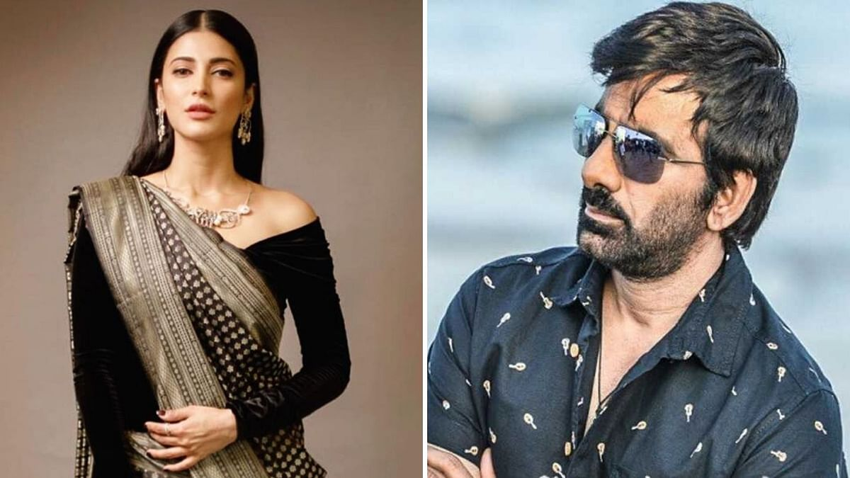 Shruti Haasan is set to team up with Ravi Teja.
