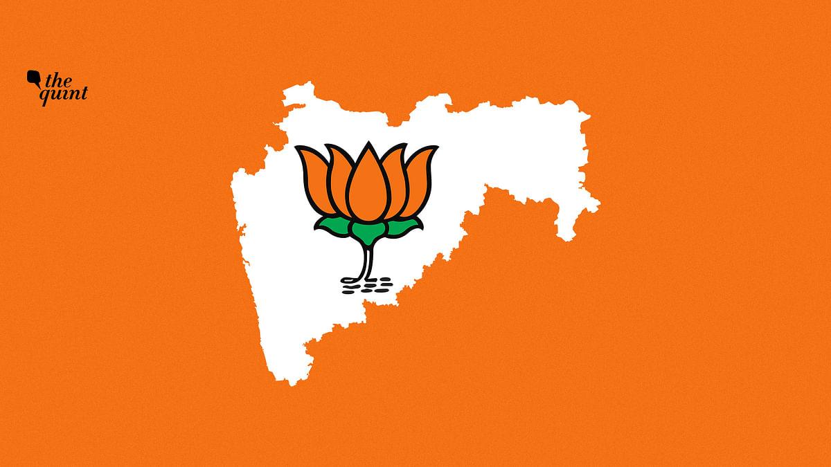 Image of Maharashtra map & BJP symbol used for representational purposes.