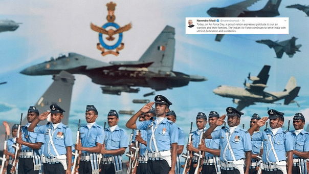 'A Proud Nation Expresses Gratitude': PM Modi on Air Force Day