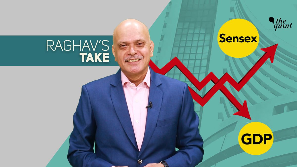 Raghav Bahl explains why the markets are at a record high, while key sectors are reeling in pessimism.