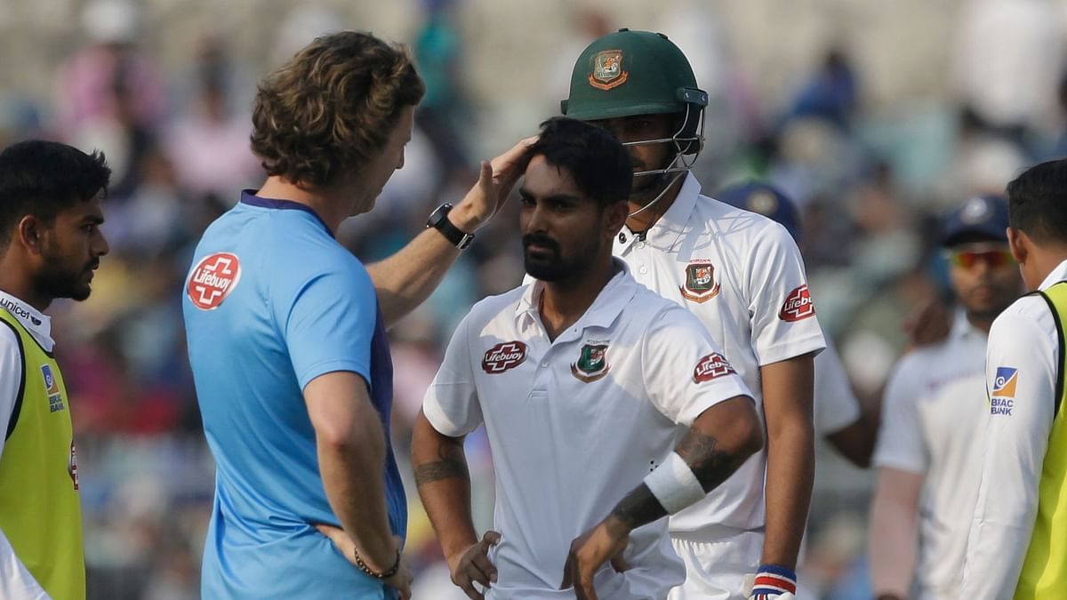 D/N Test: Bangladesh Name Mehidy, Taijul as Concussion Substitutes