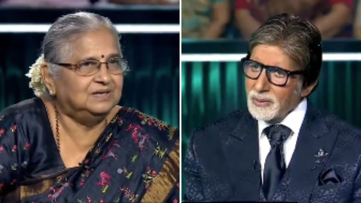 Was Allowed to Study on 3 Conditions: Sudha Murthy on 'KBC' Finale