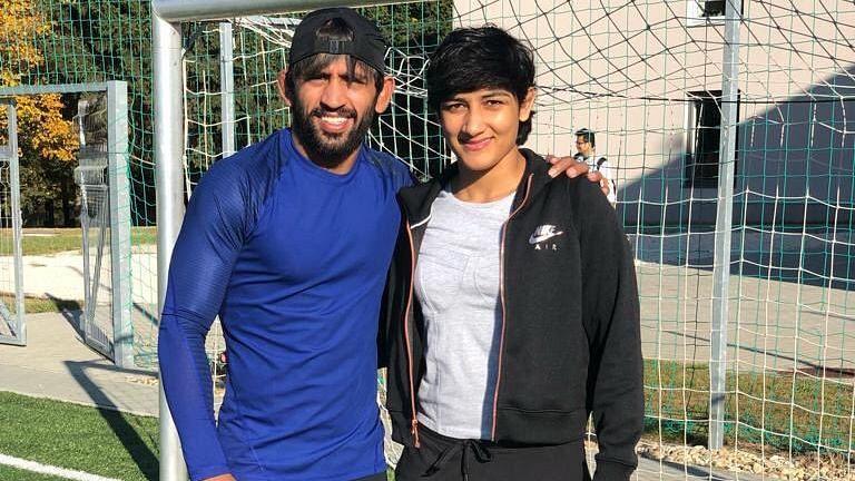 Wrestlers Bajrang Punia and Sangeeta Phogat Get Engaged