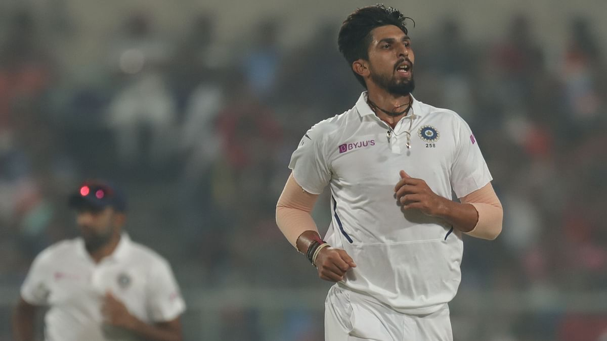 At close of play, Ishant Sharma, who bagged a five-for in the first innings, returned with figures of 4/39 in the second.