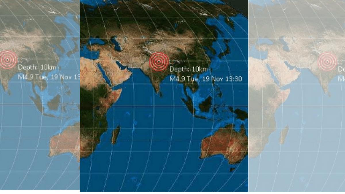 An earthquake hit Nepal on Tuesday evening