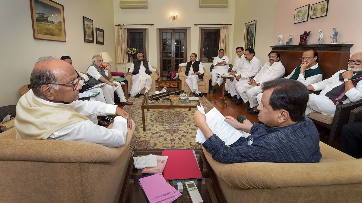 Will Provide Maharashtra a Stable Govt: Chavan After Cong-NCP Meet