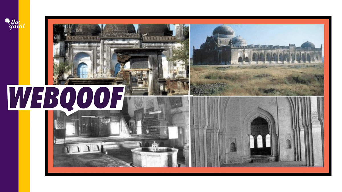 Images of Different Mosques Shared As Those of Babri Masjid