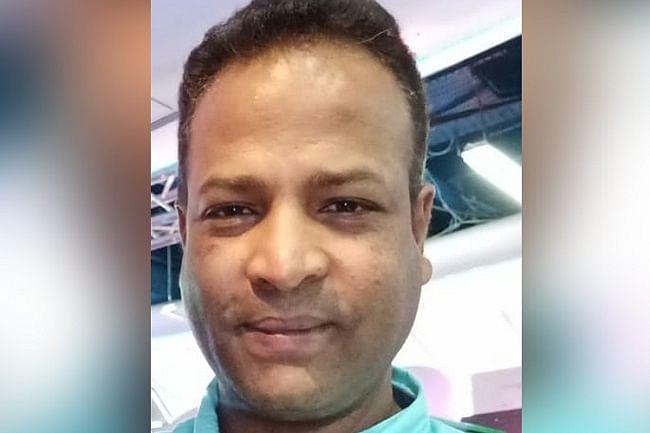 Mohammed Khiza Ulla, Jasmine's husband