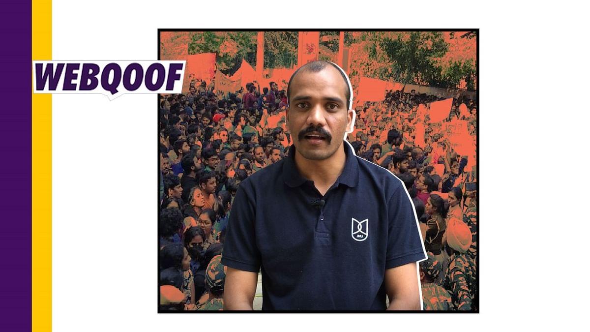 BJP People Tarnished My Image: JNU's Pankaj is Not 'Moinuddin'