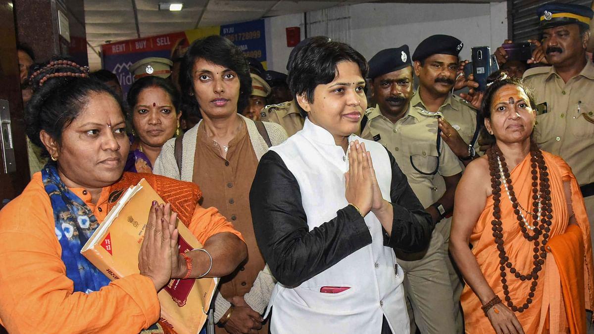 Trupti Desai Cancels Sabarimala Visit as Police Denies Protection