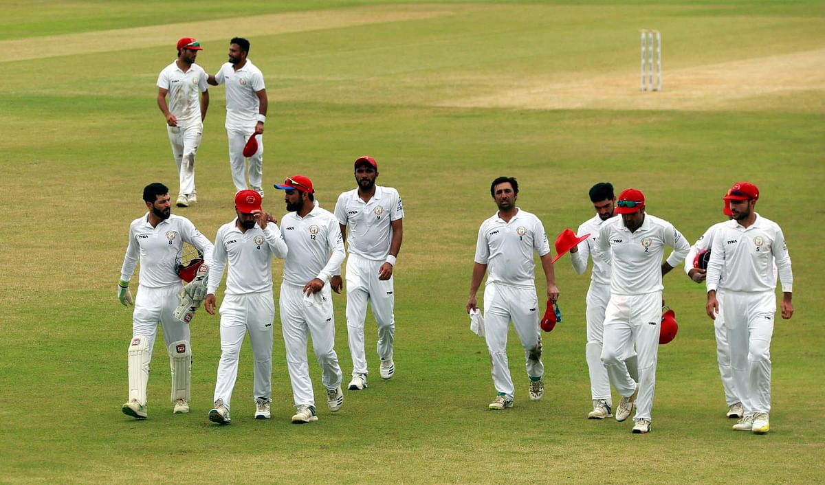 West Indies had scored 277 in their first innings after bowling out Afghanistan for 187.