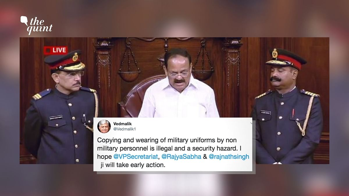 After Criticism, Rajya Sabha to Revisit Marshals' Uniform Change