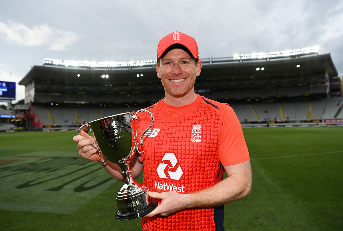 Under Eoin Morgan, England beat New Zealand 3-2 in the five-match T20I series in November.