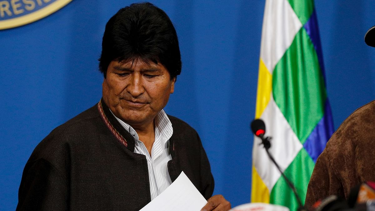 Bolivia's President Resigns Amid Election Fraud Allegations