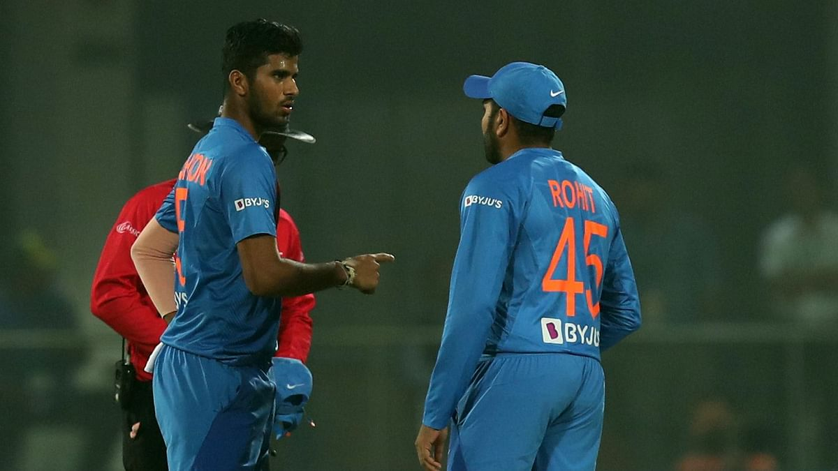 Washington Sundar  has gone wicketless for his last 4 T20 internationals.