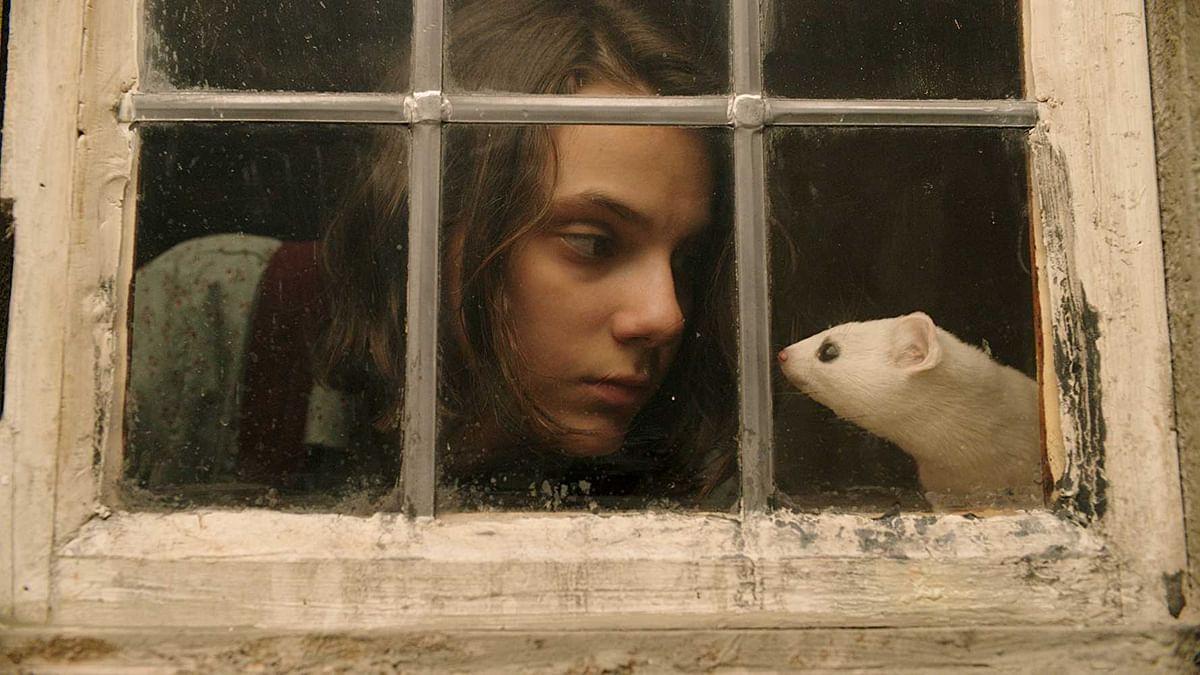 Dafne Keen as Lyra from 'His Dark Materials'.