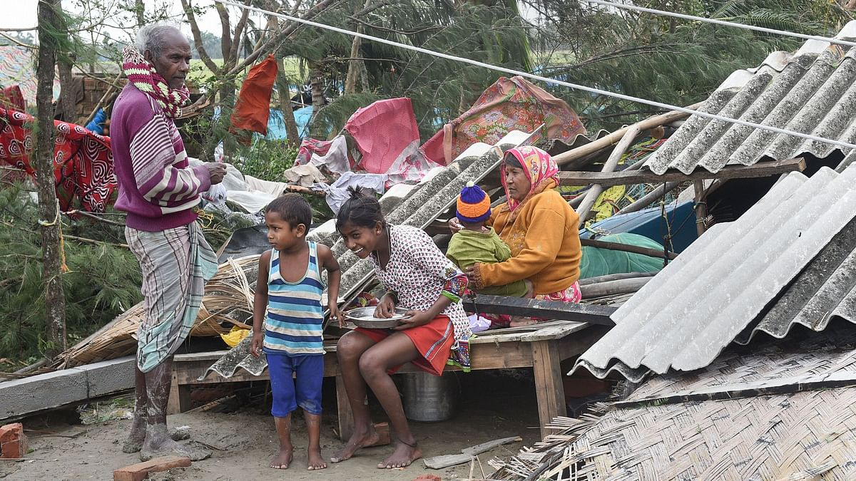 Union minister of state for environment and forests Babul Supriyo is likely to visit the cyclone-hit areas of West Bengal on Wednesday to take stock of the ground situation.