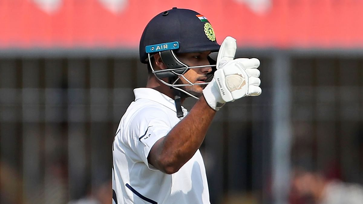 Mayank Agarwal was up to Virat Kohli's challenge of scoring a double century.