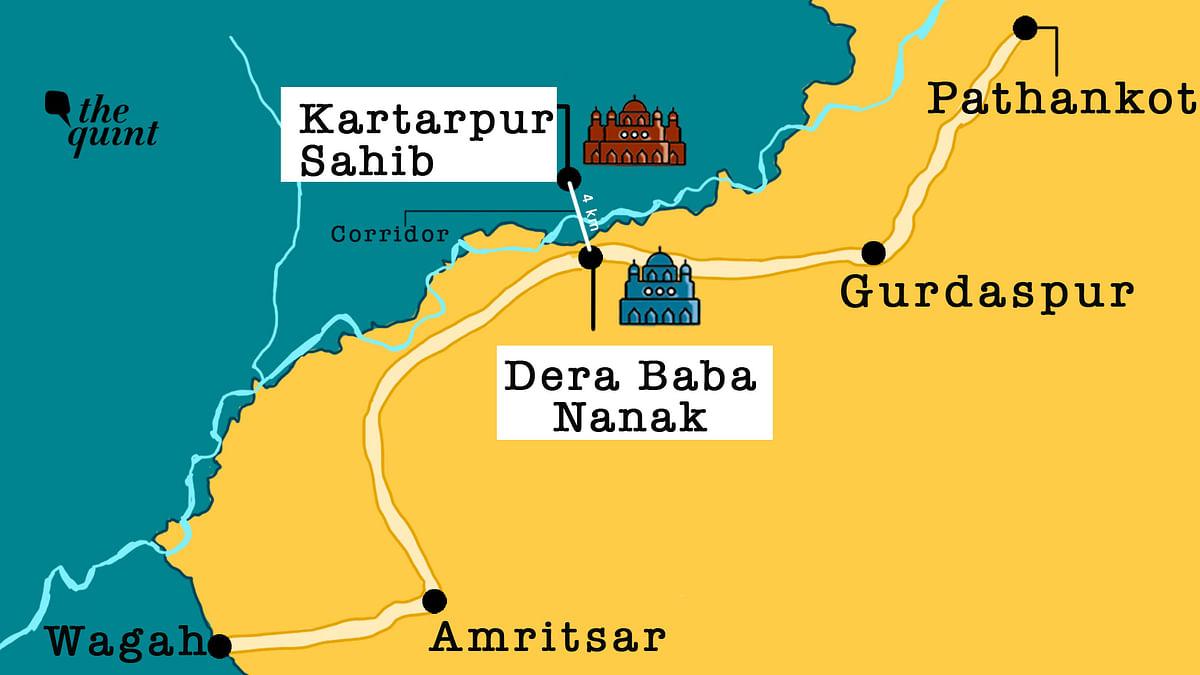 How Far Is Kartarpur Sahib From Punjab's Dera Baba Nanak? Not Very