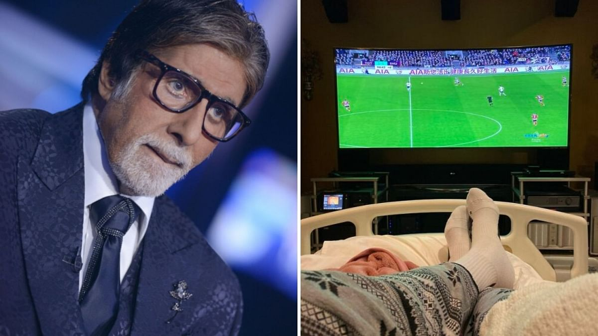 Amitabh Bachchan took to his blog to talk about his health.