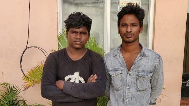 Ranjithkumar and Hemanth (friend of victim)