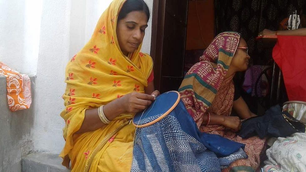 Sujini embroidery, a traditional craft, is helping women like Gudia Devi in Sarfuddinpur be financially independent, while boosting rural economy