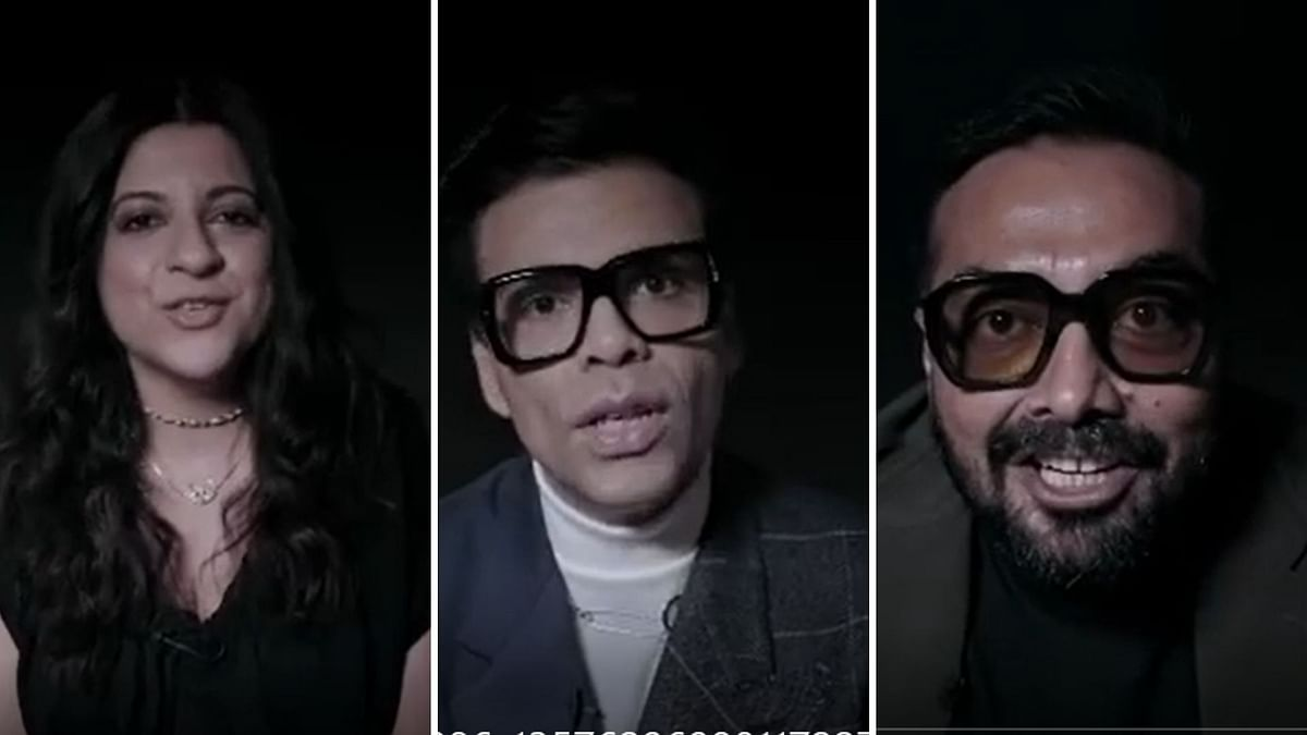 Karan Johar, Zoya Akhtar, Dibakar Banerjee and Anurag Kashyap shared a promo of Ghost Stories.