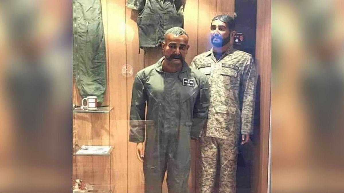 Pak Air Force Installs Abhinandan's Mannequin at Karachi Museum
