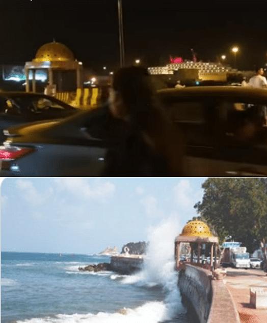 High Waves Lashing Mumbai's Marine Lines? No, Video  is From Oman