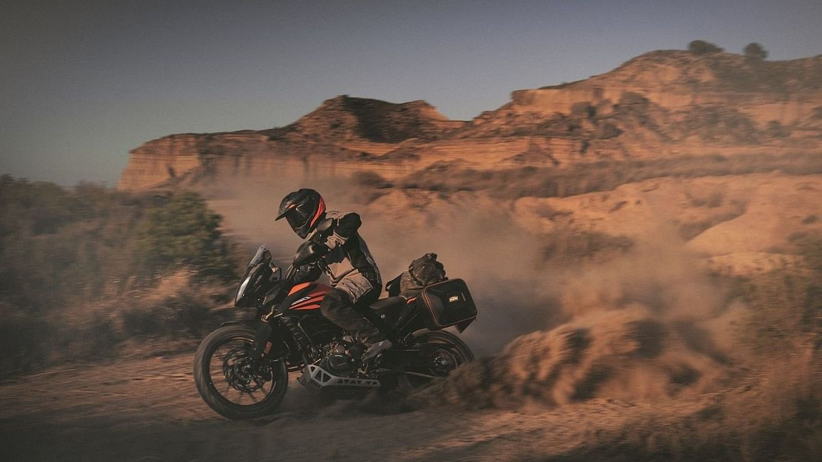 KTM 390 Adventure made its global debut at the EICMA 2019.