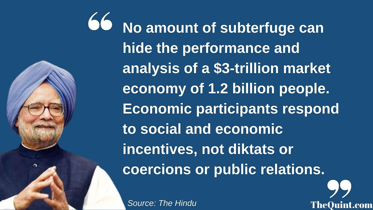 Excerpt from former PM Manmohan Singh's editorial in<i> The Hindu.</i>