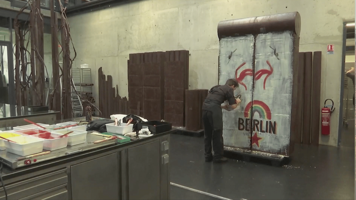 Want a Piece of the 'Berlin Wall'? You Can Have It & Eat It Too