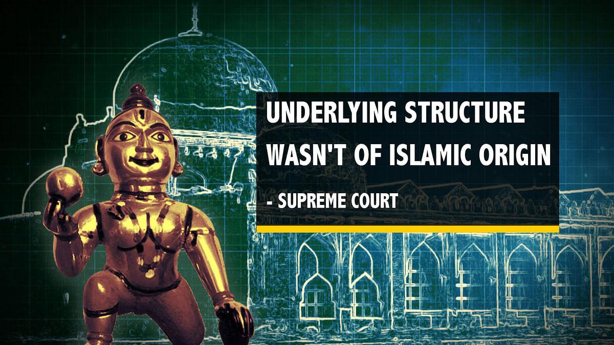 SC Verdict: Hindus Get Disputed Land; Alternate Site for Mosque