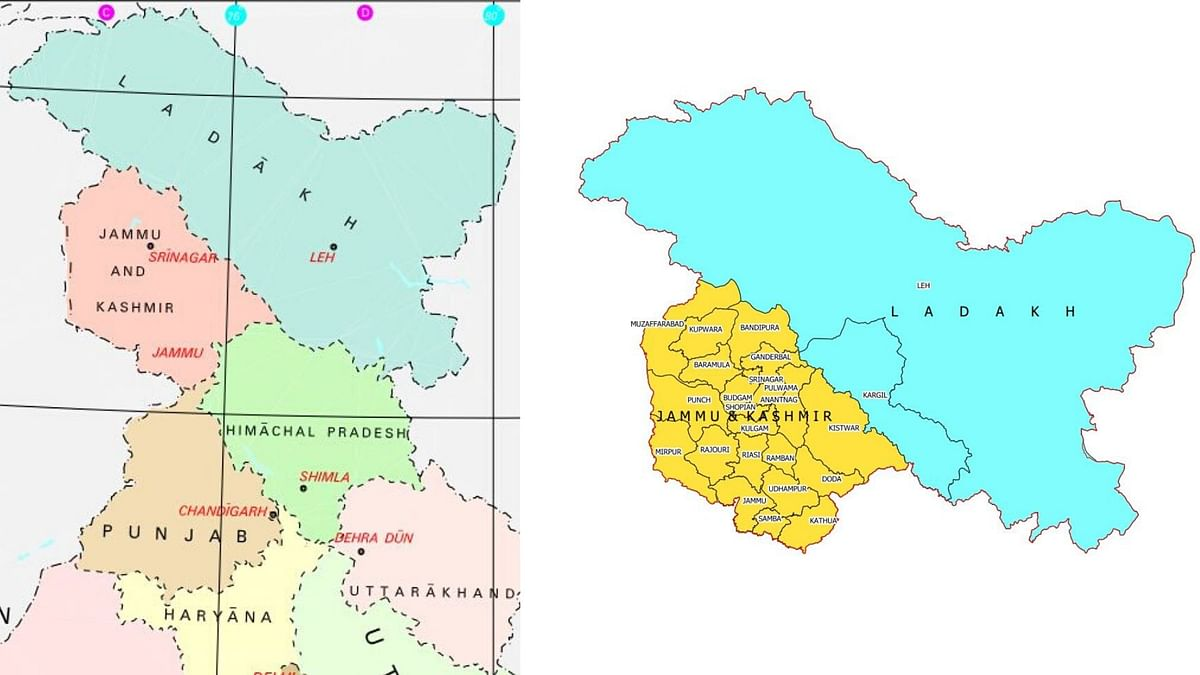 India Gets a New Map: Boundary of UTs of J&K and Ladakh Declared