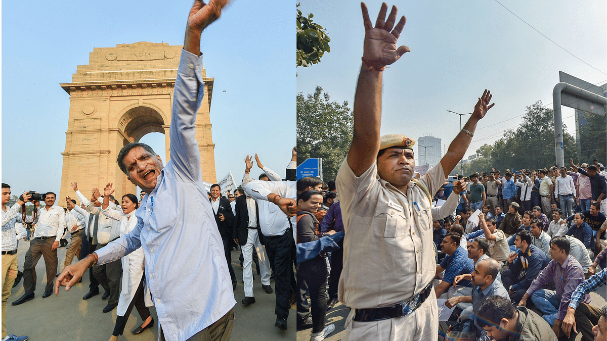 What Is Lawyers-Delhi Police Skirmish About? All You Need to Know