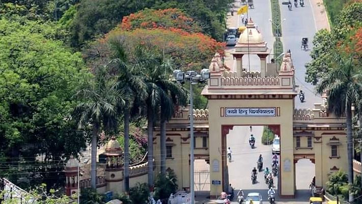 Tension prevailed on the campus of the Banaras Hindu University (BHU) on Tuesday, 19 November, after a photograph of nationalist leader Veer Savarkar was defaced.